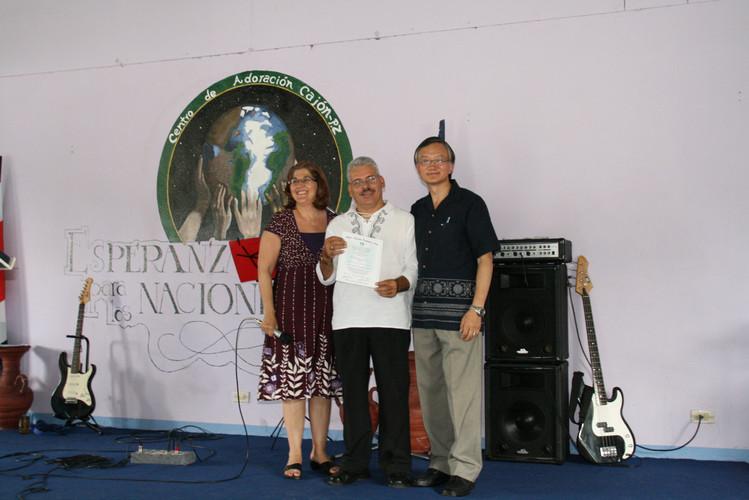 Pastor Alex, the RMTC Director in Costa Rica