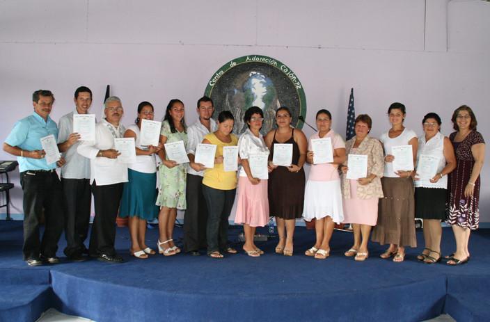 RMTC Graduates in Prez Zeledon, Costa Rica