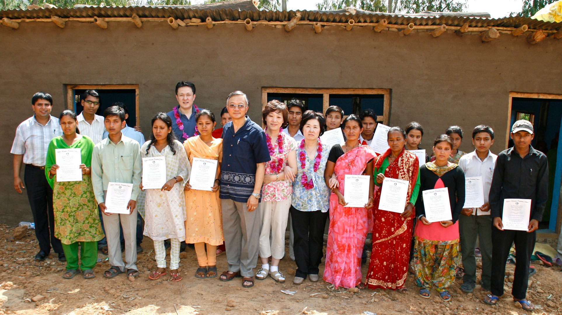 With RMTC Graduates in Nepal