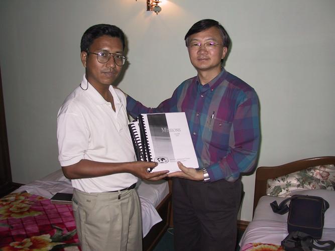 Pastor Vula, RMTC Director in Myanmar