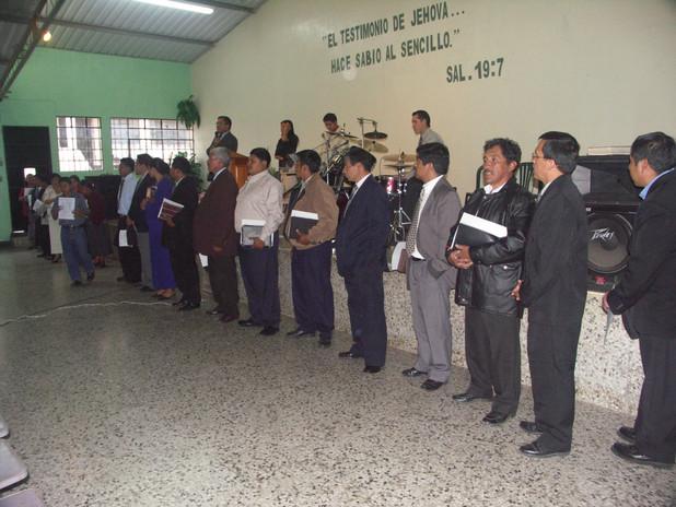 Indigious Pastors of RMTC Graduates