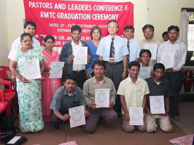 With the RTMC graduates