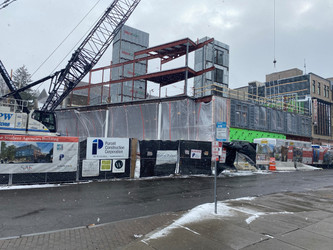 Redevelopment Update on The Student Agencies Building