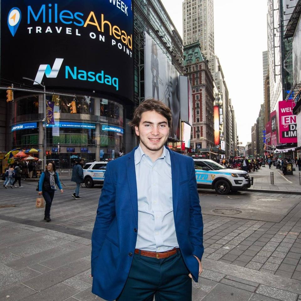 Rob Karp, founder and CEO of MilesAhead