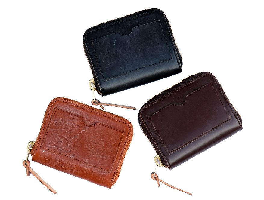 Wax Leather Wallet S