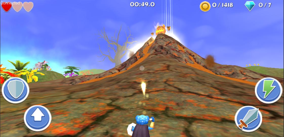 Braving the Volcano