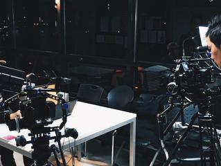 YBM과의 3개월 간 총 100편의 CF작업