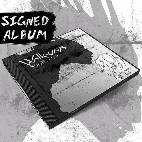 """""""Safe In Sound"""" (Signed CD)"""