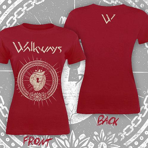 Heart Lock Girls T-Shirt