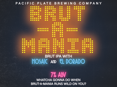 National Beer Day Brut-A-Mania IPA Release