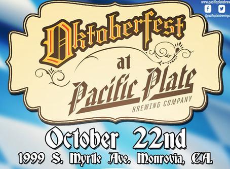 Oktoberfest 2016 at Pacific Plate