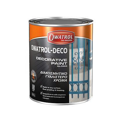 Owatrol-Deco Multi Surface Decorative Paint & Rust Inhibiting Gloss 0,75L