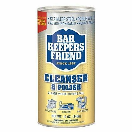 Bar Keepers Friend Cleanser & Polish 12oz