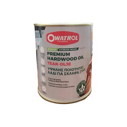 Owatrol Premium Hardwood Oil 1L