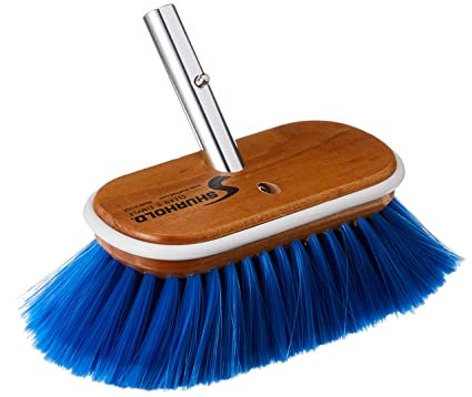 "Shurhold 6"" Nylon Extra Soft Brush Blue"