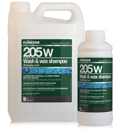 Clin Azur 205w Wash & Wax Boat Shampoo 5L