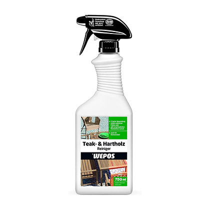 Wepos Teak & Hardwood Cleaner 750ml