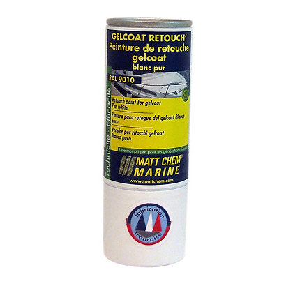 Matt Chem Gelcoat Paint 150ml Cream