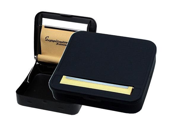 Rolling Cigarette Case Tou Pappou - Black