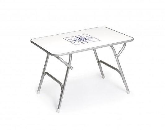Folding Aluminum Boat Table 44 x 88 x 61 cm M200