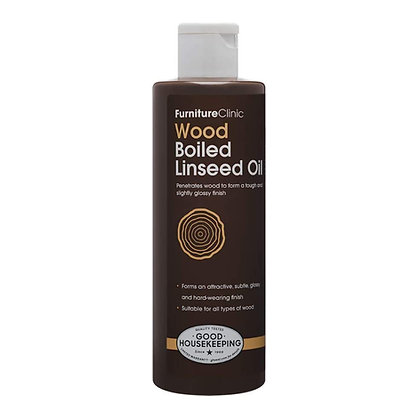 Furniture Clinic Boiled Linseed Oil for Wood Furniture & More