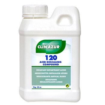 Clin Azur Acid Descaling Compound 120