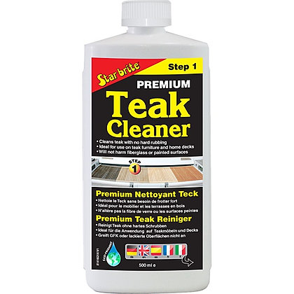 Star Brite Premium Teak Cleaner - Step 1 500ml