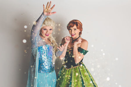 Frozen Party, Frozen, Anna and Elsa, Chicago Princess Party