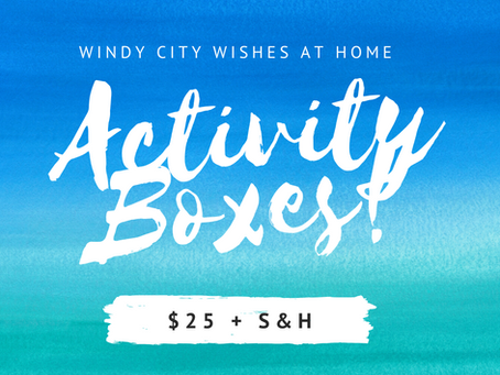 Now Announcing - At Home Activity Boxes