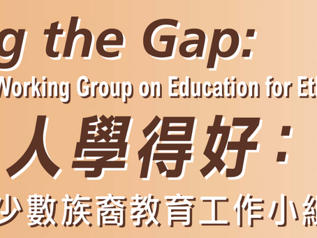 EOC   Closing the Gap: Report of the Working Group on Education for Ethnic Minorities