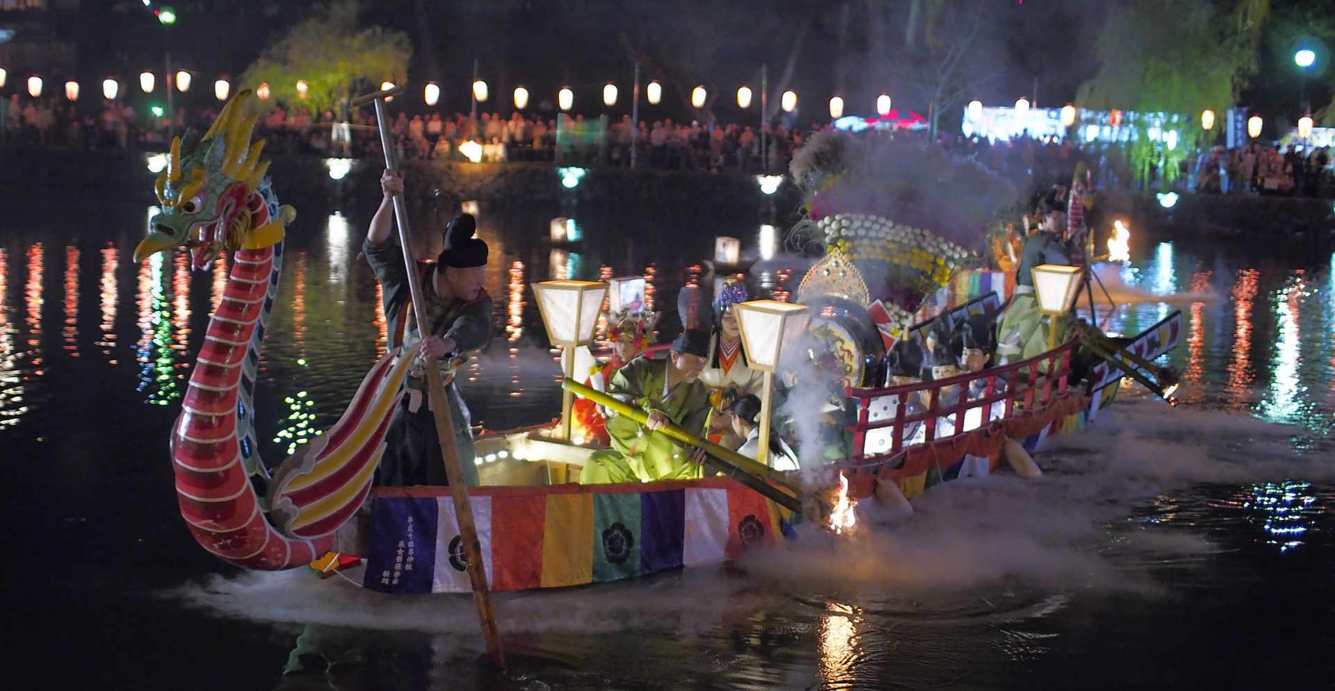 Uneme-sai@Sarusawa-ike pond /采女祭