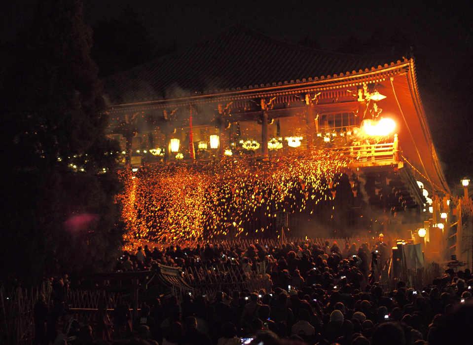 Omizutori rituals@Nigatsudo/二月堂御水