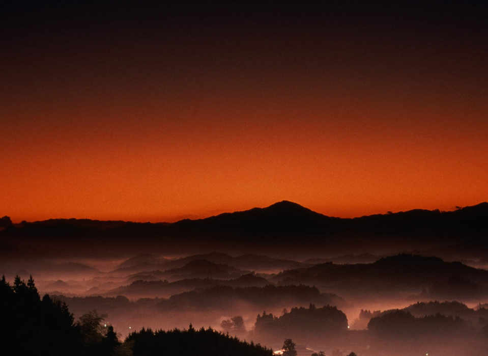 Kagiroi (Red Light of Dawn) in Uda District