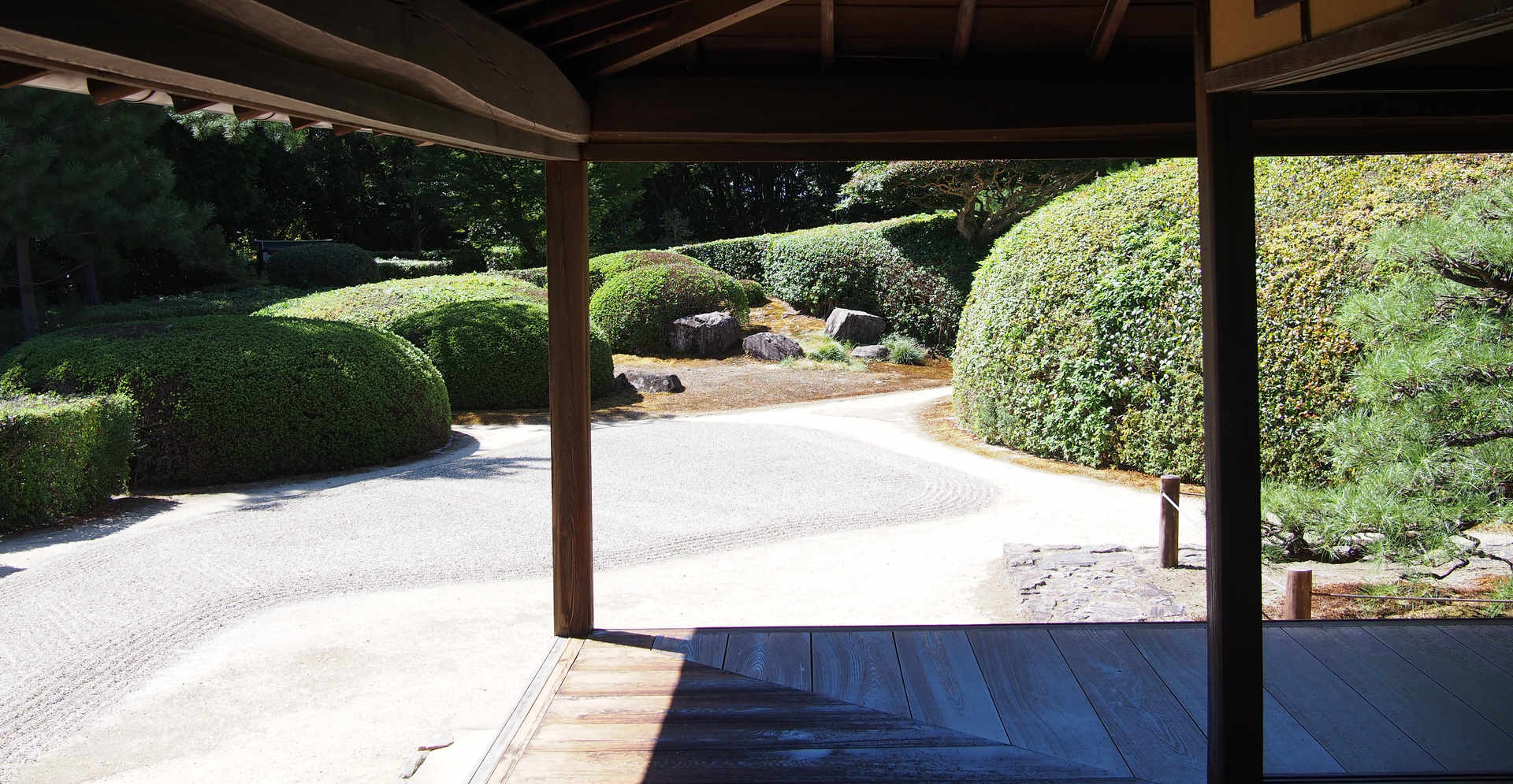 Jiko-in temple zen garden