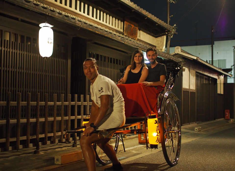 Night Rickshaw @Naramachi/奈良町夜人力車