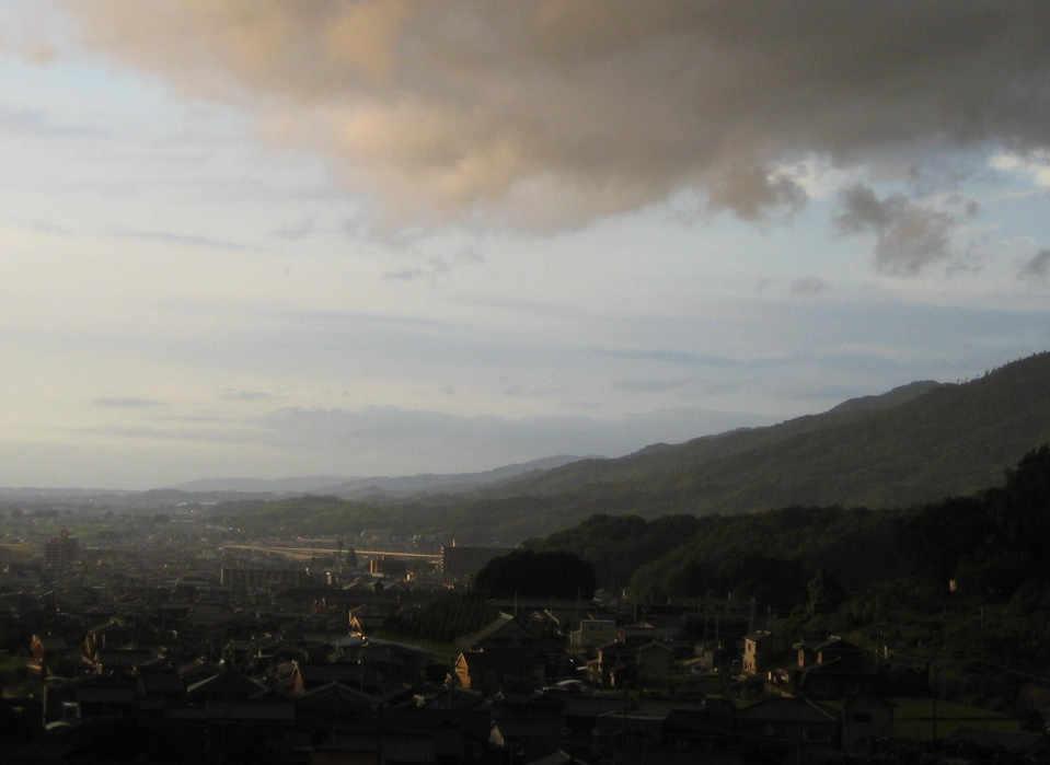 Mt.Miwa viewed from Shorinji temple
