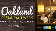 Oakland Restaurant Week!