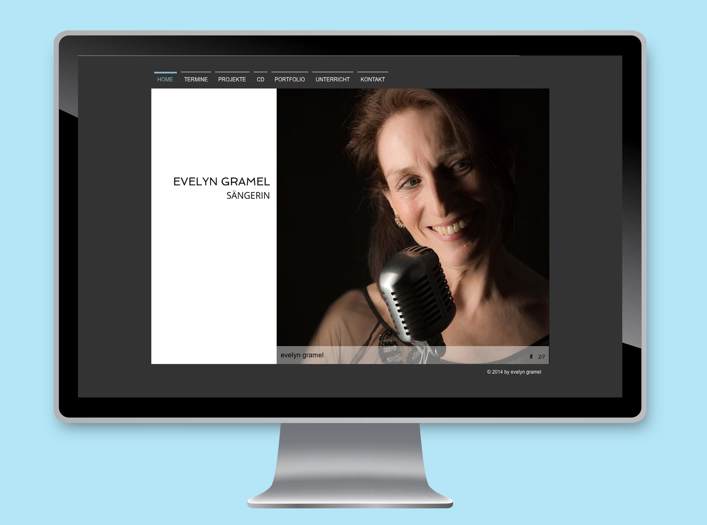 Website Evelyn Gramel