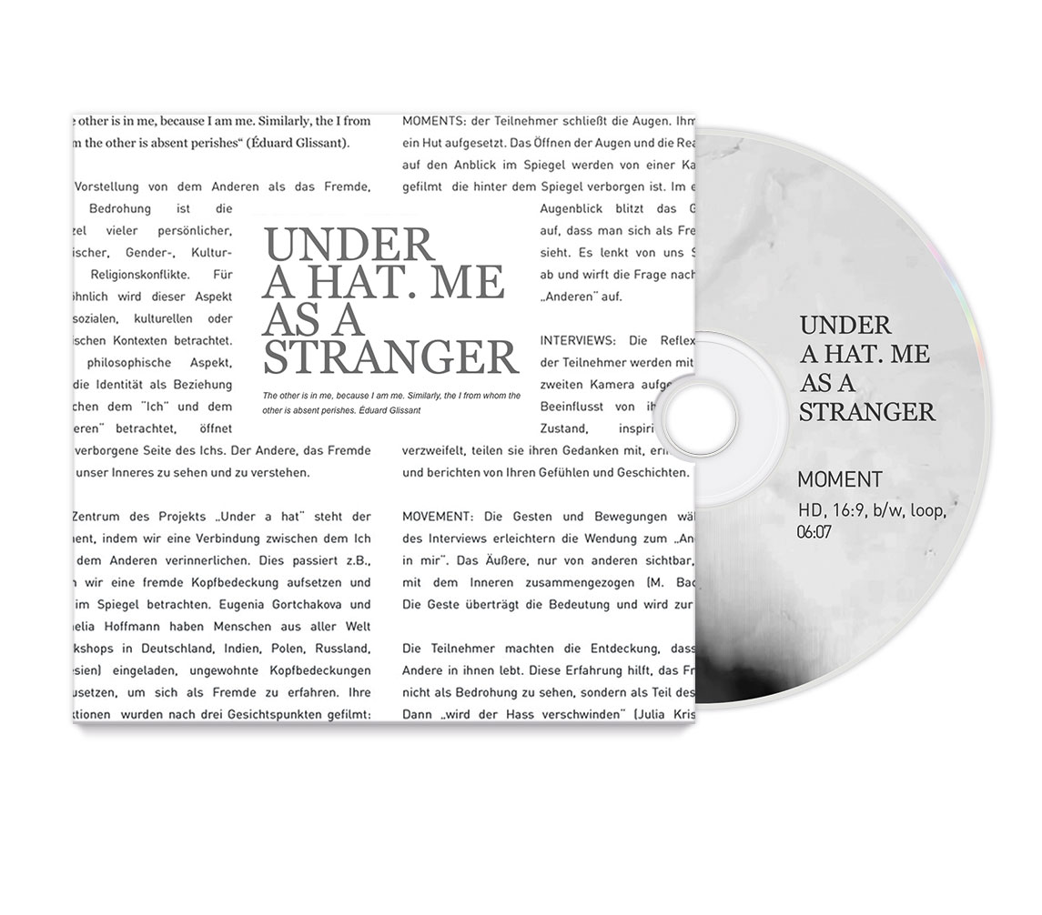 CD-Pack – me as a stranger