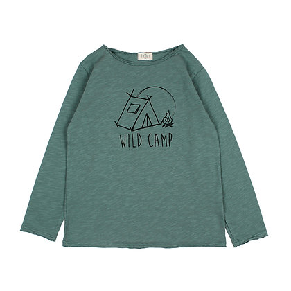 T-SHIRT ANDY WILD CAMP (PINE GREEN)