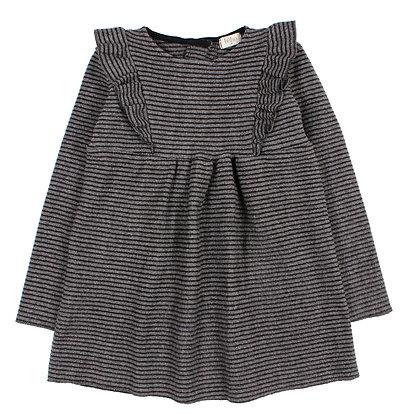 DRESS EVA (GREY/BLACK)
