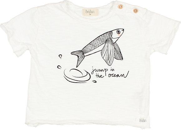 "CAMISETA ""OCEAN""- WHITE"