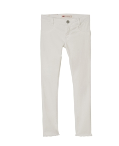 SUPER SKINNY BLANCO (tela denim)
