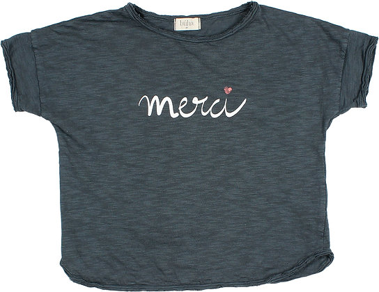 "Copia de CAMISETA ""MERCI"""