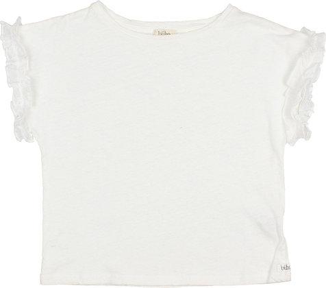 CAMISETA VOLANTE -WHITE