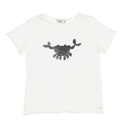 CAMISETA CRAB-WHITE