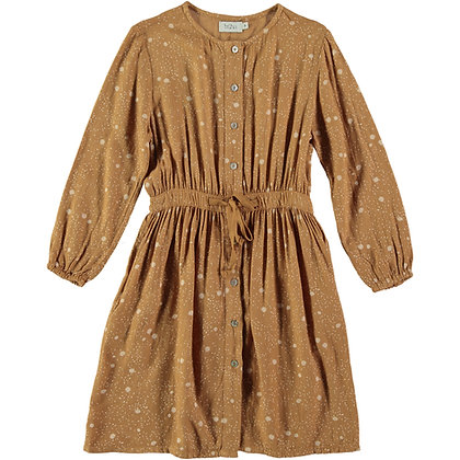 LIV LIBERTY DRESS ( BISCUIT )
