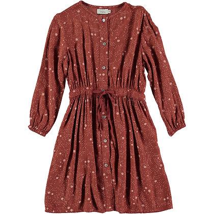 LIV LIBERTY DRESS ( CINNAMON )