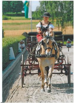Soleika zur Eignungsprüfung in Moritzburg (Foto P.Tendler)