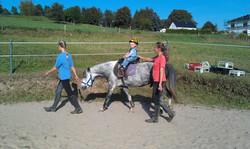 Ponyreiten auch für die Kleinsten